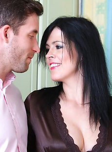 This hot British mom loves getting dirty with the guy next door