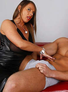 Big breasted German mom playing with the guy next door