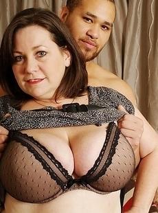 mommy with big tits getting pounded