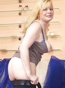 Naughty housewife getting a hard cock inside her